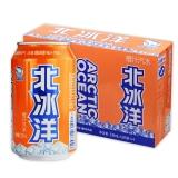 北冰洋 橙汁味 碳酸饮料 330ml*24听/箱 箱装