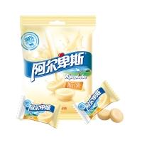阿尔卑斯至纯牛奶味硬糖袋118g牛奶糖 儿童用糖休闲零食