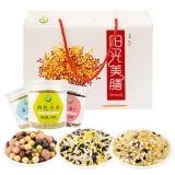 禾煜 混合米杂粮罐装礼盒(红豆薏米 十谷米 混合豆浆豆 四色小米等)1.8kg