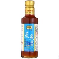 中国台湾 黑龙O'LONG 蒸鱼豉油(酿造酱油)300ml 原蒸鱼豉汁 海鲜调味