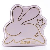 大白兔 agnes b.粉红版珍藏礼盒 红豆奶糖 128克