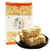 阿尔发  木糖醇萨其马 无糖食品 鸡蛋香酥口味 传统糕点软点255g/袋