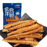 海之恋 休闲 零食 香酥鱼排100克/袋
