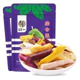 华味亨 综合蔬果干150g/袋 蜜饯果干 休闲零食 果蔬干蔬菜干