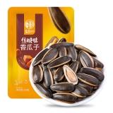 华味亨 焦糖味香瓜子200g/袋 休闲食品 零食 坚果 葵花籽 办公零食