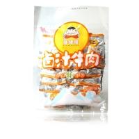 四川特产 休闲零食 棒棒娃牛肉干组合装80g*4袋(卤汁五香味、酱香香辣味)年货礼包