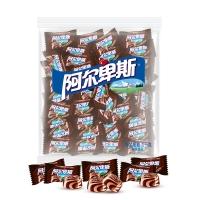 阿尔卑斯 焙香咖啡牛奶味硬糖(约250颗)散糖袋装1kg牛奶糖 婚庆喜糖休闲零食企业用糖(新老包装交替发货)