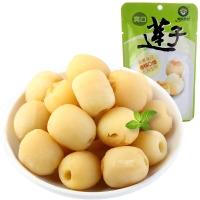 果园老农 莲子 蜜饯果干 休闲零食 爽口莲子50g