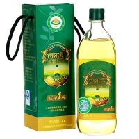 得尔乐山茶油 有机野生油茶籽油 压榨一级食用油1L