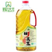 川菜王 非转基因 初榨纯香菜籽油0.9L