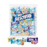 阿尔卑斯 牛奶软糖混合味散袋装1kg(焦香源味.醇厚酸奶.葡萄酸奶)约200颗 婚庆喜糖企业用糖(新老包装交替发货)