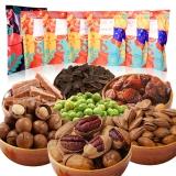 艾贝拉 果园农场松鼠大礼包干果蜜饯零食混合坚果礼盒1556g