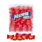 阿尔卑斯 原味喜糖奶糖(约250颗)单粒散糖袋装1kg牛奶糖 婚庆糖果休闲零食企业用糖(新老包装交替发货)