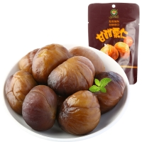 果园老农 板栗 蜜饯果干 休闲零食 甘甜栗仁50g