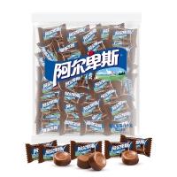 阿尔卑斯 醇正巧克力味牛奶硬糖(约250颗)散糖袋装1kg牛奶糖 婚庆喜糖休闲零食企业用糖(新老包装交替发货)
