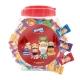 阿尔卑斯桶装硬糖混合口味散糖1.2kg约300粒牛奶糖 休闲零食送礼佳品