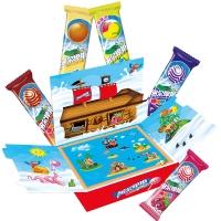 阿尔卑斯硬糖棒棒糖立体书礼盒(20支装)200克牛奶糖 休闲零食