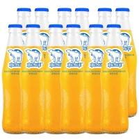北冰洋 瓶装汽水上市 桔汁味碳酸饮料 248ml*12瓶/箱