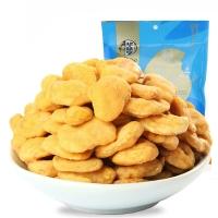 华味亨 坚果炒货 豆片蚕豆炒货零食 蟹香豆瓣160g/袋