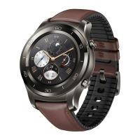 HUAWEI WATCH 2 Pro华为新款智能手表 独立通话(eSIM技术) GPS心率 FIRSTBEAT运动指导 NFC支付 钛银灰