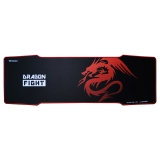 宜适酷 EXCO 红龙 电竞键盘鼠标垫超大号 速度版 5mm加厚细面顺滑加长锁边创意专业电脑办公游戏桌垫MSP-015