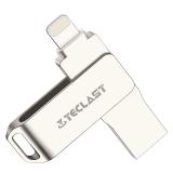 台电(Teclast)魔闪mini苹果手机U盘64G 苹果官方MFI认证USB3.0 iPhone/iPad双接口手机电脑两用迷你u盘