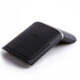 联想(Lenovo) N700 win8超薄无线鼠标 双模触控 2.4G 蓝牙4.0 带激光笔功能 黑色 PPT商务演示蓝牙鼠标