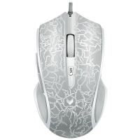 雷柏(Rapoo) V20S 电竞鼠标 游戏鼠标 有线鼠标 笔记本鼠标 银色烈焰版