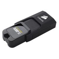 美商海盗船(USCORSAIR)滑雪者X1 USB3.0 128GB U盘 滑盖设计 酷炫黑色