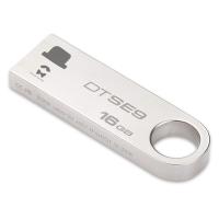 金士顿(Kingston)DTSE9H 16GB U盘 情侣定制 个性化礼物 图案定制 金属车载U盘 2个
