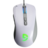 富勒(Fühlen)第九系光磁微动G90 鼠标 游戏鼠标 有线鼠标 FPS 绝地求生 吃鸡 CSGO 幻彩电竞 白色