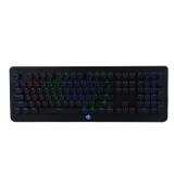 魔炼者(MAGIC-REFINER)MK9 108键全真吃鸡专业电竞游戏机械键盘复古圆键帽青轴全铝合金面板黑色RGB圆键帽