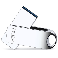 banq F80 32GB USB3.0高速防水防震金屬U盤精品版 雪白銀