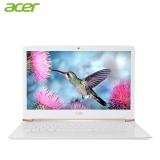 宏碁(Acer)蜂鸟 S5 13.3英寸全金属超轻薄笔记本(i5-6200U 4G 256G SSD 核芯显卡 IPS全高清 背光)白色