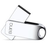banq F8 32GB 防水防震金属U盘精品版 雪白银
