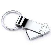 banq F9 32GB 全金屬大鋼環U盤 防水防震尊貴版 雪白銀
