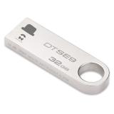 金士顿(Kingston)DTSE9H 32GB U盘 情侣定制 个性化礼物 图案定制 金属车载U盘 2个