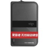爱国者(aigo) HD816 1TB 无线移动硬盘 USB3.0 黑色
