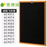 思博润(SBREL)  配飞利浦空气净化器过滤网滤芯 AC4142除甲醛网 适用飞利浦AC4074 AC4083