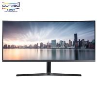 三星(SAMSUNG)34英寸21:9超寬屏 1800R高分辨率曲面 低藍光廣視角 電腦顯示器 C34H890WJC(HDMI/DP雙接口)