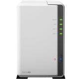群晖(Synology)DS216se 2盘位 NAS网络存储服务器(无内置硬盘)