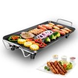 尚烤佳 电烧烤炉 家用电烤盘 韩式无烟铁板烧电烤炉 烧烤架中号JN-Z