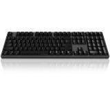 AKKO Ducky Zero 3108 PBT 侧刻 机械键盘 108键 cherry 樱桃轴 黑色 青轴 全键编程