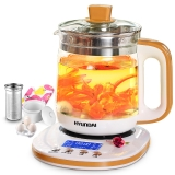 现代(HYUNDAI)养生壶多功能玻璃煮茶壶QC-YS1842 1.8L