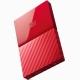 西部数据(WD)My Passport 1TB 2.5英寸 中国红 移动硬盘 WDBYNN0010BRD-CESN