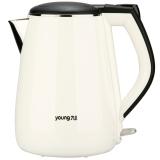 九陽(Joyoung)電水壺 熱水壺 1.3L電熱水壺 燒水壺 全鋼內膽JYK-13F05A