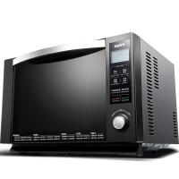 三洋(SANYO)EM-L520H 日系数码旋钮 一级能效 湿度感应 不锈钢内胆微波炉 25升