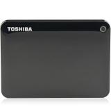 东芝(TOSHIBA)V8 CANVIO高端系列 2.5英寸 移动硬盘(USB3.0)2TB(经典黑)