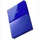 西部数据(WD)My Passport 4TB 2.5英寸 贵族蓝 移动硬盘 WDBYFT0040BBL-CESN
