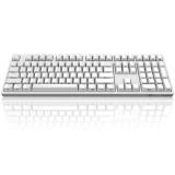AKKO Ducky Zero 3108 PBT 侧刻 机械键盘 108键 cherry 樱桃轴 白色 茶轴 全键编程